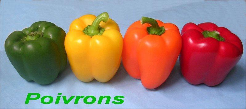 Le poivron kiwiforme - Que cuisiner avec des poivrons ...
